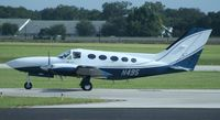 N495 @ ORL - Cessna 414A