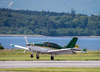 G-FIFI @ EGEO - Landing on Runway 19 at Oban Airport. - by Jonathan Allen