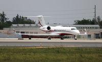 N502P @ MIA - Gulfstream 450