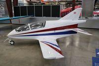 N505MR @ DMA - Bede BD-5G jet