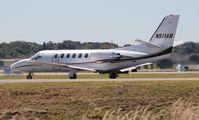 N511AB @ ORL - Citation 550 - by Florida Metal