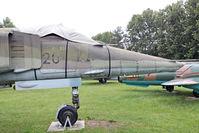 696 @ ETHT - Flugplatzmuseum Cottbus 9.6.15  696 with 20 44 on rh side - by leo larsen