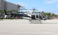 N523PY - Bell 407 at Heliexpo