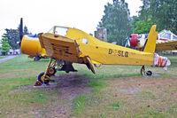 D-ESLQ @ ETHT - Flugplatzmuseum Cottbus 9.6.15 - by leo larsen