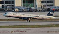 N554UW @ MIA - USAirways A321