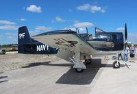 N555PF @ TIX - T-28 Trojan - by Florida Metal