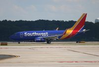 N567WN @ ATL - According to Planespotters.net, Southwest just picked this 737 up from West Jet.