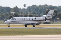 N568QS @ ORL - Net Jets