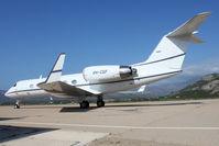 VH-CGF @ LFKC - It's Gulfstream G-IV s/n 1083 (built in 1988). Arrived from Avignon Caumont