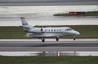 N614QS @ MIA - Net Jets