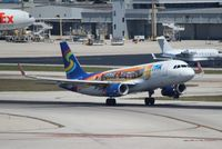 N618NK @ FLL - Spirit Airlines post card livery