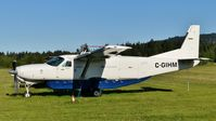 C-GIHM @ CYCD - Parked at Nanaimo airport. - by M.L. Jacobs