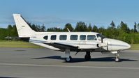 C-GIKA @ CYCD - Parked at Nanaimo airport. - by M.L. Jacobs