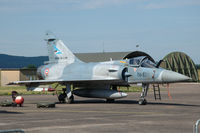 66 @ LFSX - Dassault Mirage 2000-5F fighter of the French Air Force on the flightline of Luxeuil Air Base. - by Van Propeller