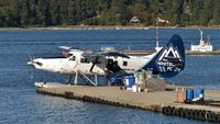 C-GHAZ @ CAC8 - Harbour Air #316 at Nanaimo Harbour terminal. - by M.L. Jacobs