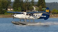 C-FHAD @ CAC8 - Harbour Air #316 landing in Nanaimo Harbour. - by M.L. Jacobs
