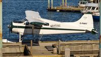 C-FHRT @ CAC8 - Gulf Island Seaplanes Beaver tied up at Nanaimo Harbour terminal. - by M.L. Jacobs