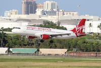 N623VA @ FLL - Virgin America