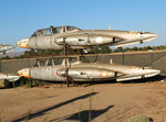 430 @ PRB - ex French AF Fouga CM.170 Magisters No. 432 and No. 242 stacked at Estrella Air Museum side lot - by Steve Nation