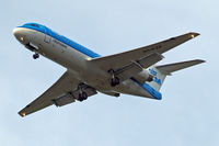 PH-KZB @ EGLL - Fokker F-70 [11562] (KLM cityhopper) Home~G 30/04/2014. On approach 27R.