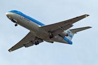 PH-KZB @ EGLL - Fokker F-70 [11562] (KLM cityhopper) Home~G 30/04/2014. On approach 27R.
