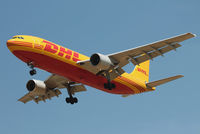 D-AEAM @ EBBR - D-AEAM  of DHL landing at Brussels Airport. - by Raymond De Clercq