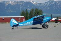 N2937P @ IYS - At ramp of Wasilla airport AK - by Jack Poelstra