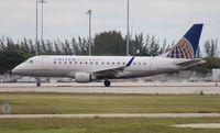 N639RW @ PBI - United Express E170