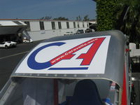 UNKNOWN @ SZP - Caravella Aerospace CaraVellair prototype roadable aircraft, logo atop fuselage - by Doug Robertson