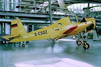 D-ESOZ @ EDNX - LET Z-37 Cmelak [08-18] Oberschleissheim~D 09/09/1993 - by Ray Barber