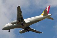 D-AGWY @ EGLL - D-AGWY   Airbus A319-132 [5941] (Germanwings) Home~G 21/05/2015. On approach 27R.