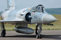 66 @ LFSX - Mirage 2000-5F fighter of the French Air Force ready to taxy at Luxeuil Air Base. - by Van Propeller