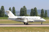 D-AAOK @ LFSB - Canadair Challenger 604, landing rwy 15, Bâle-Mulhouse-Fribourg airport (LFSB-BSL) - by Yves-Q