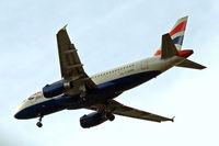 G-EUPM @ EGLL - Airbus A319-131 [1258] (British Airways) Home~G 30/04/2014. On approach 27R.