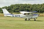 G-AZTS @ EGNF - 1972 Cessna F172L, c/n: 0866 at Netherthorpe