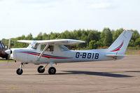 G-BGIB @ EGLK - Cessna 152 [152-82161] (Air First) Blackbushe~G 03/05/2014 - by Ray Barber