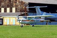 G-BNMF @ EGTF - Cessna 152 [152-85563] Fairoaks~G 03/05/2014 - by Ray Barber