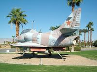 154649 @ KPSP - Palm Springs Air Museum's TA-4J - by Eric Olsen