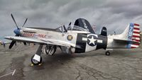 N98CF @ PAE - P-51K Fragile But Agile at he 2014 Vintage aircraft Museum at the Historic Flight Foundation. - by Eric Olsen