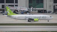 N690AC @ MIA - Solaseed Air 737-400