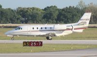 N693QS @ ORL - Net Jets - by Florida Metal