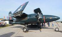 N700F @ LAL - F7F-3 Tiger Cat