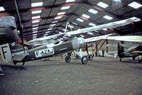 F-AZAJ @ LFFQ - Morane-Saulnier MS.138 [3220/138] La Ferte Alais~F 16/07/1982. From a slide.
