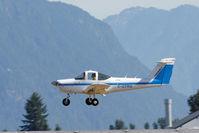 C-GTRQ @ CYPK - Landing - by Guy Pambrun