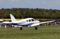 G-BSSC @ EGHP - Piper PA-28-161 Warrior II [28-8216176] Popham~G 03/05/2014. Revised scheme. - by Ray Barber