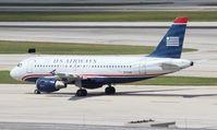 N711UW @ FLL - US Airways