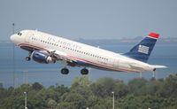 N714US @ TPA - USAirways - by Florida Metal