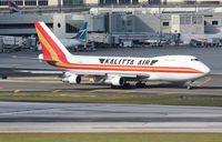 N715CK @ MIA - Kalitta 747-200