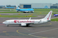 CS-TQU @ EHAM - Boeing 737-8K2 [30646] (Corendon Dutch Airlines) Amsterdam-Schiphol~PH 06/08/2014 - by Ray Barber