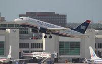N730US @ MIA - USAirways A319